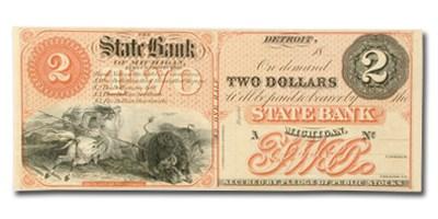18__ The State Bank of Michigan $2 MI-160 CU