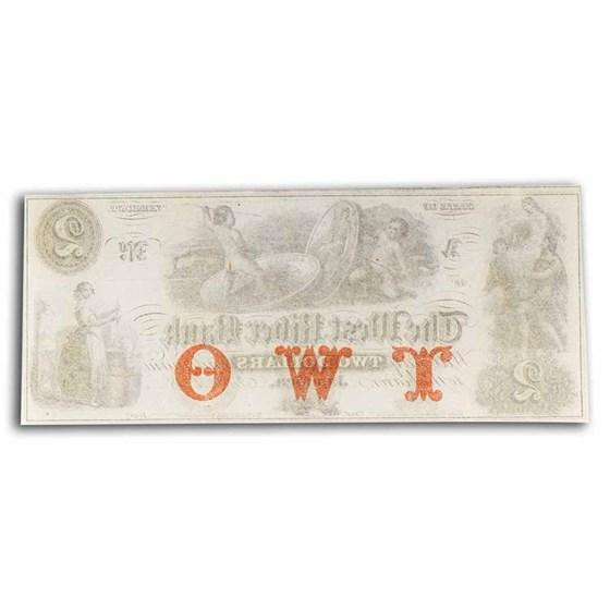 18__ The West River Bank, Jamaica, VT $2.00 Note VT-115 CU