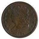 1800-1857 Half Cents Culls