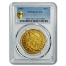 1801 $10 Turban Head Gold Eagle AU-58+ PCGS