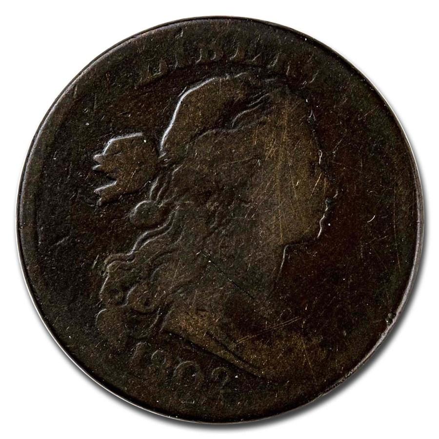 1802 Large Cent 1/000 Good