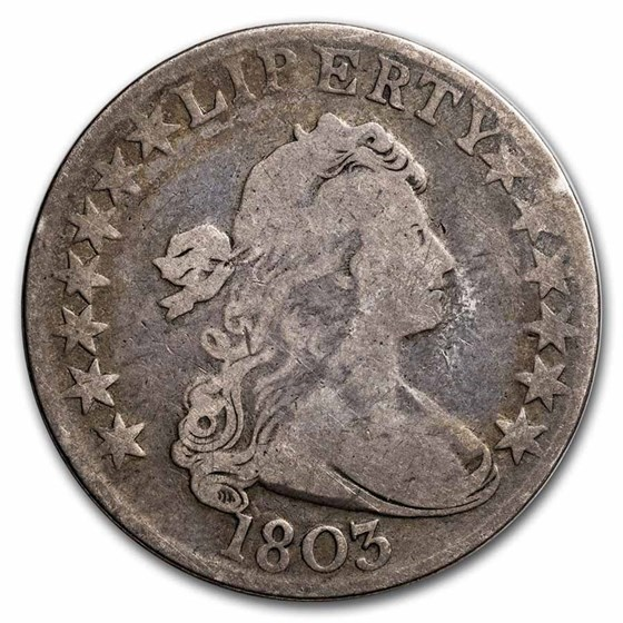 1803 Bust Half Dollar Good (Large 3)