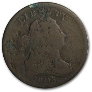 1803 Half Cent VG Details