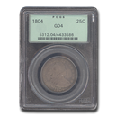 1804 Draped Bust Quarter Good-4 PCGS