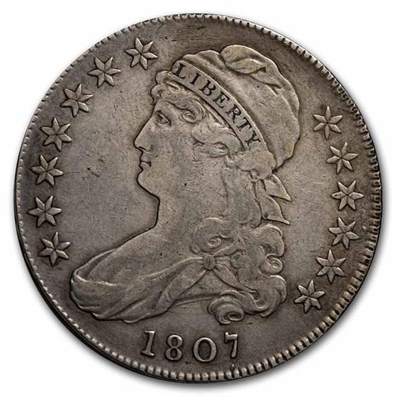 1807 Draped Bust Half Dollar VF