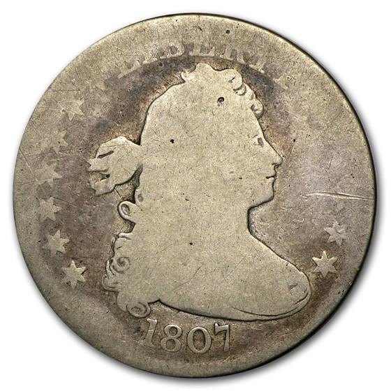 1807 Draped Bust Quarter AG