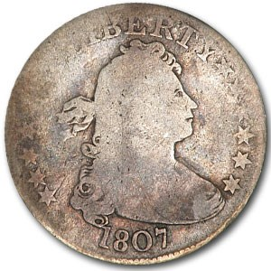 1807 Draped Bust Quarter Good