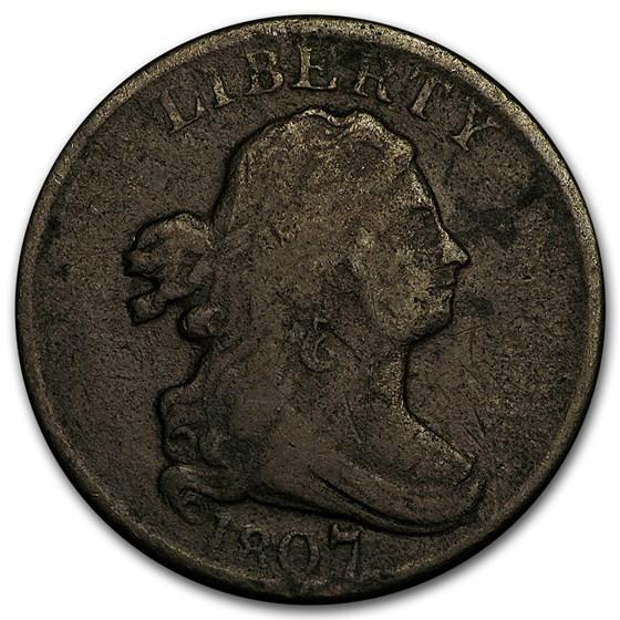 1807 Half Cent VG