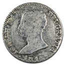 1808-1813 Kingdom of Spain AR 4 Reales Joseph Napoleon Avg Circ