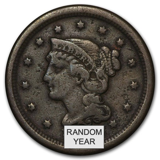 1808-1857 Large Cents Avg Circ