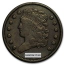 1809-1836 Classic Head Half Cent Fine