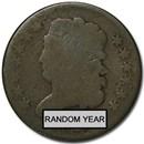 1809-1836 Classic Head Half Cent Good/VG