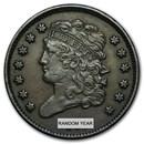 1809-1836 Classic Head Half Cent XF