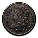 1809/6 Half Cent AU