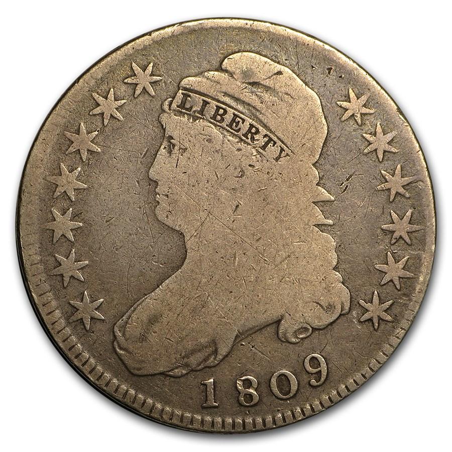 1809 Bust Half Dollar VG