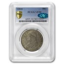 1810 Capped Bust Half Dollar VF-30 PCGS CAC