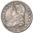 1811 Capped Bust Half Dollar XF