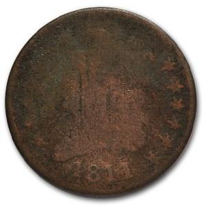 1811 Half Cent AG