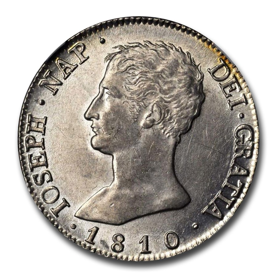 1811-M AI Spain Silver 20 Reales Ferdinand VII MS-62 NGC