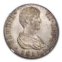 1811-V SG Spain Silver 4 Reales Ferdinand VII MS-65 NGC