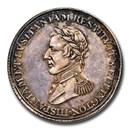 """1812 Canada Silver """"Wellington"""" Peninsular Token PR-63 NGC"""
