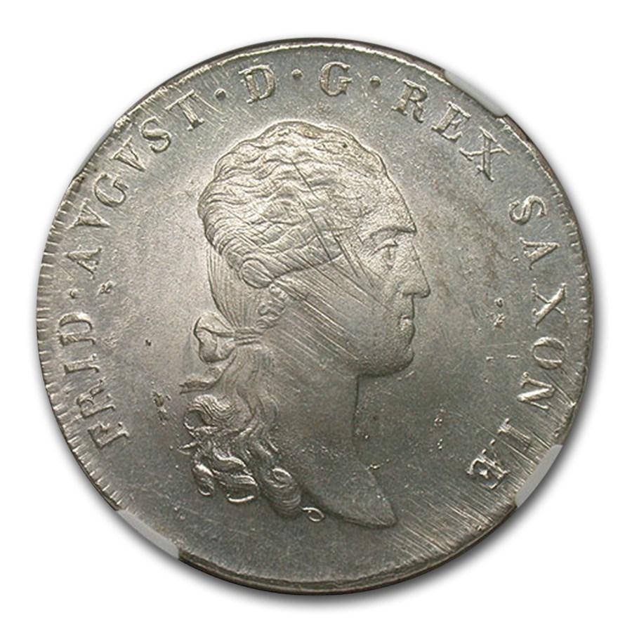 1812-SGH Germany/Saxony Silver Taler MS-63 NGC