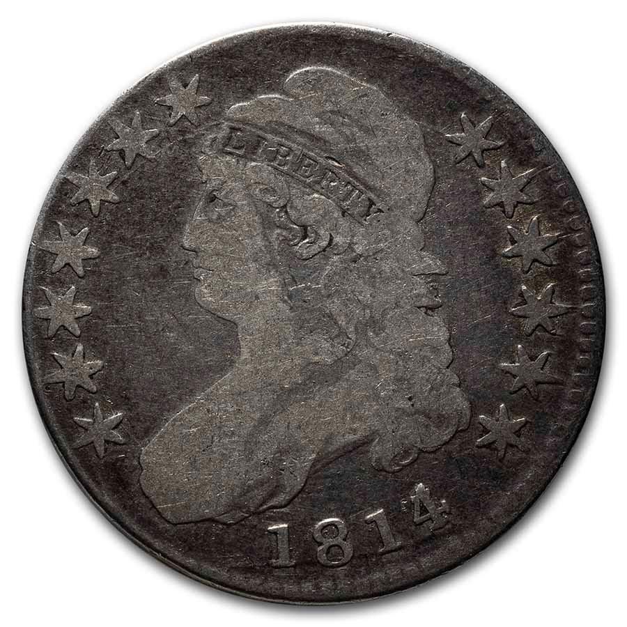 1814/3 Bust Half Dollar VG