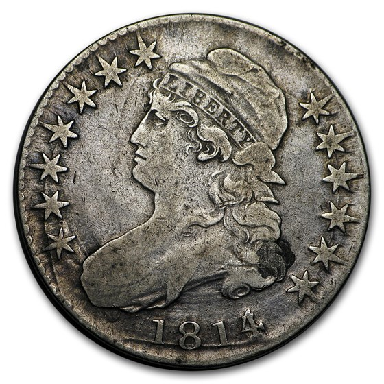 1814/3 Capped Bust Half Dollar Fine