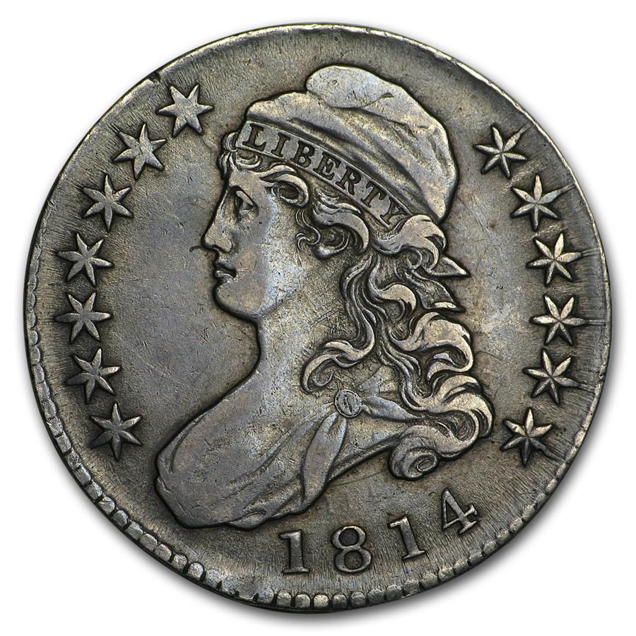 1814 Bust Half Dollar XF