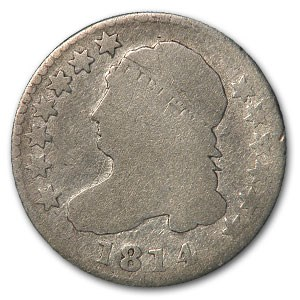 1814 Capped Bust Dime AG (Large Date)