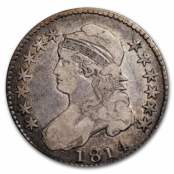 1814 Capped Bust Half Dollar Fine