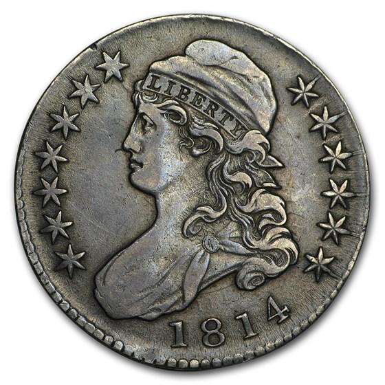 1814 Capped Bust Half Dollar XF