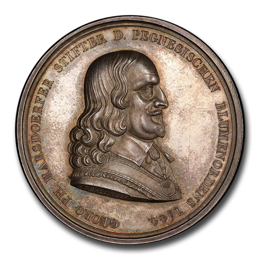 1814 German States Nurnberg AR Medal SP-64 PCGS