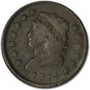1814 Large Cent Plain 4 Fine