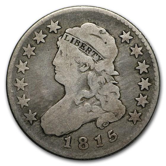 1815 Capped Bust Quarter Fine