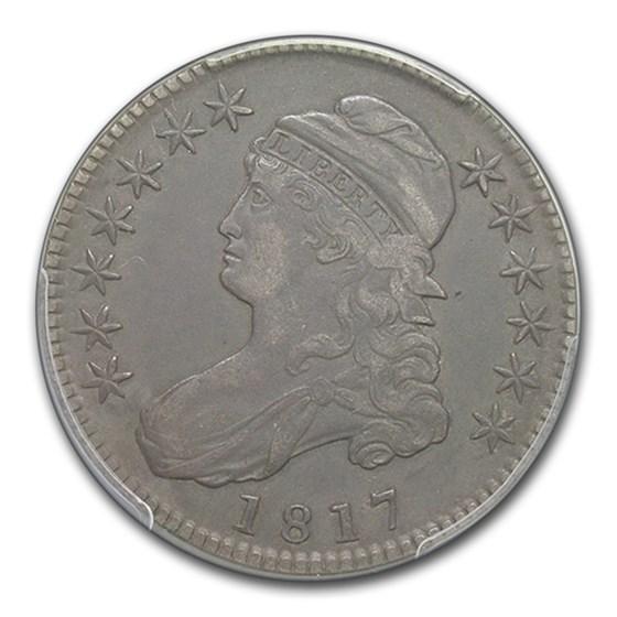 1817 Capped Bust Half Dollar VF-35 PCGS (Overton 109)