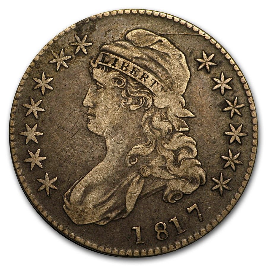 1817 Capped Bust Half Dollar VF
