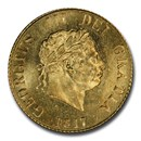 1817 Great Britain Gold Half-Sovereign George III MS-65 PCGS