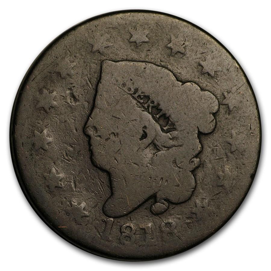 1818 Large Cent AG