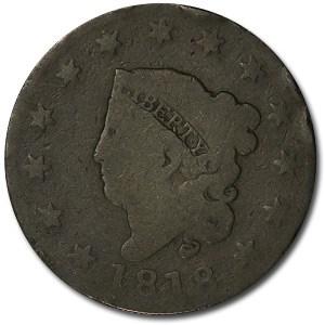 1818 Large Cent Good