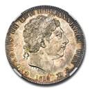 1818 LVIII Great Britain Silver Crown George III MS-63 NGC