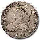 1819 Capped Bust Half Dollar Fine