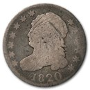 1820 Capped Bust Dime Large O Good