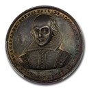 1821 Great Britain Silver Medal William Shakespeare SP-64 PCGS