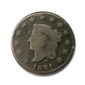 1821 Large Cent Good