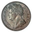 1822 Ireland CU Penny George IV MS-63 NGC