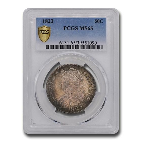 1823 Bust Half Dollar MS-65 PCGS
