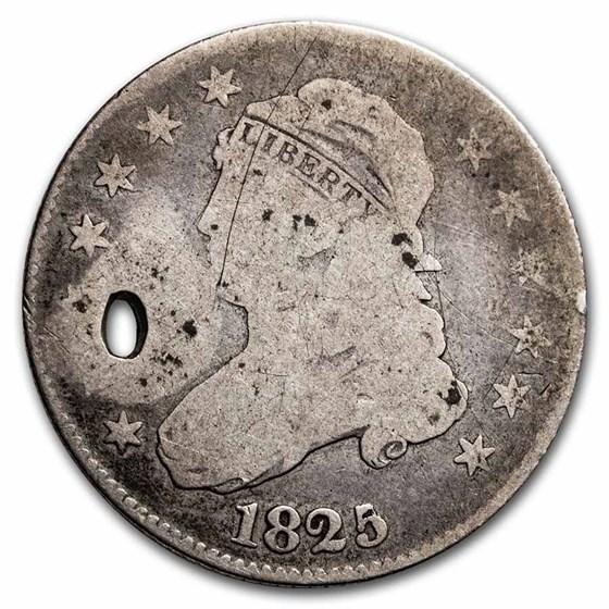 1825/4 Capped Bust Quarter VG (Details)