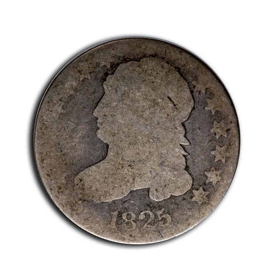 1825 Capped Bust Dime AG