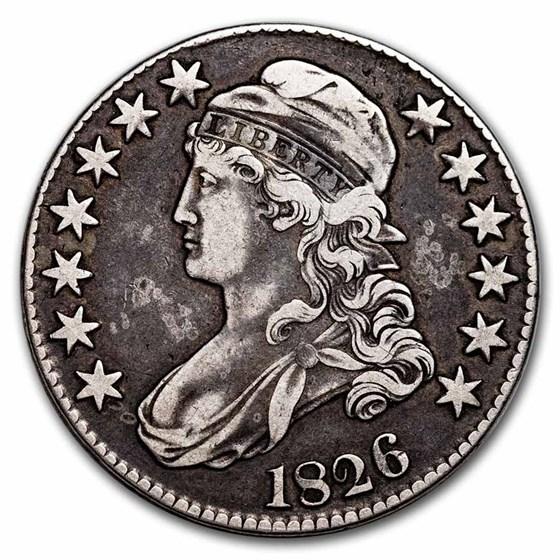 1826 Bust Half Dollar XF